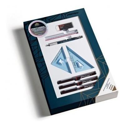 Kit Arquitectura +escuadras +portamina +microfibrs +escalime