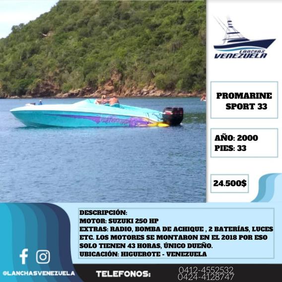 Lancha Promarine Sport 33 Lv396