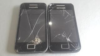 Lote 2 Samsung Galaxy Ace Gt-s5830c Com Defeito