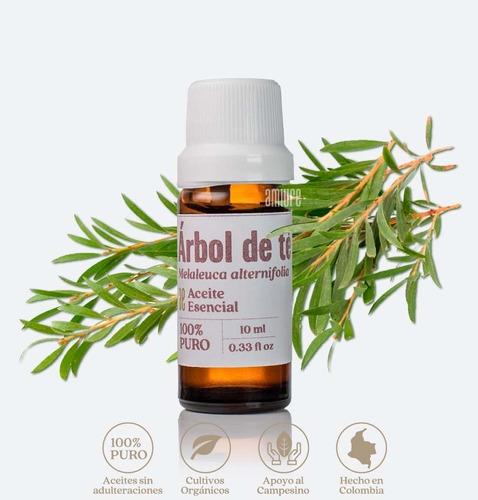 Aceite Esencial 100% Puro Orgánico Árbol De Te Tea Tree