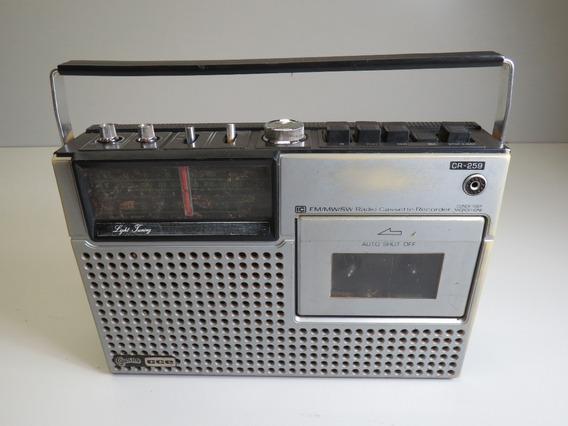 Radio Gravador Cce Modelo Cr 259
