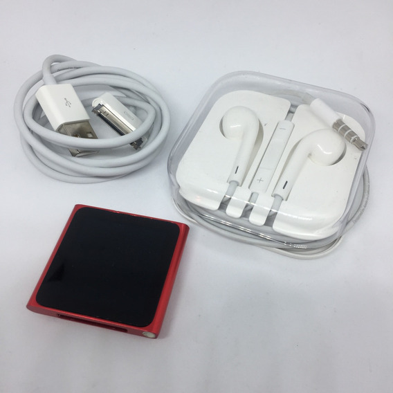 iPod Nano 6º Geração Vermelho