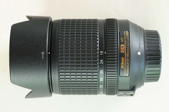 Lente Nikon Af-s 18-140mm F/3.5-5.6g Ed Vr Dx