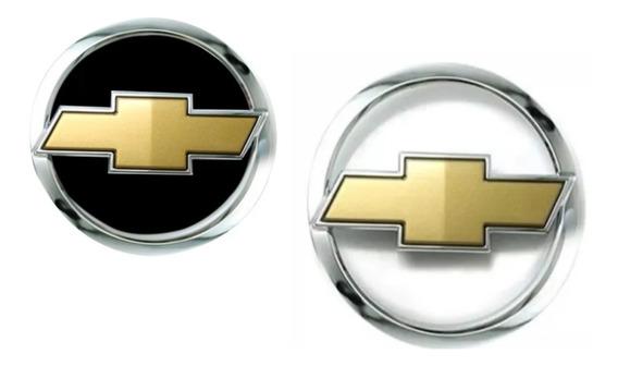 Kit Emblemas Grade E Porta Malas Celta 2006 Dourado