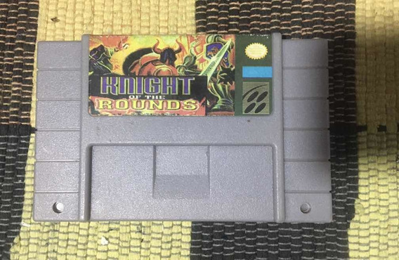 Fita Cartucho Knights Of The Rounds P/ Super Nintendo