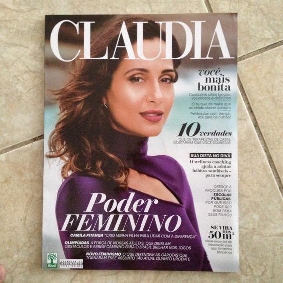 Revista Claudia Março 2016 Camila Pitanga Poder Feminino