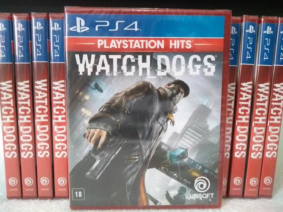 Watch Dogs Ps4 Midia Física Lacrado