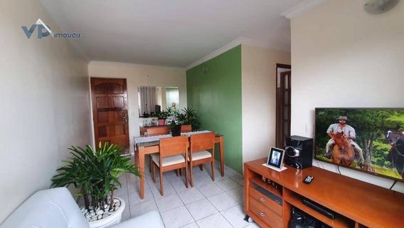 Apartamento Com 2 Dormitórios À Venda, 48 M² Por R$ 200.000 - Parque Pinheiros - Taboão Da Serra/sp - Ap0811