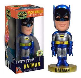 Batman 1966 Adam West Wacky Wobbler Metalizado, Mortal !