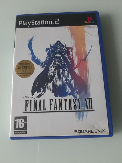 Final Fantasy 12 Original Ps2 Europeu Pal