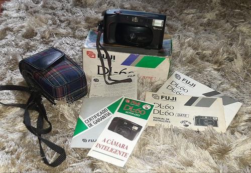 Câmera Analógica Fuji Dl-60 (1989) (funcionando Ler Anúncio)