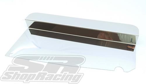 Acabamento Defletor Superior Radiador Vw Gol G1 Inox