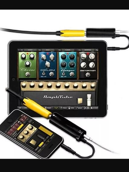 Conversor Irig Interface Adaptador Multimídia Violão Guitarr