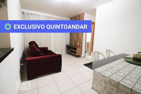 Apartamento No 1º Andar Mobiliado Com 2 Dormitórios E 1 Garagem - Id: 892970270 - 270270