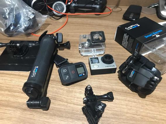 Camera Gopro Hero 4 + Acessórios
