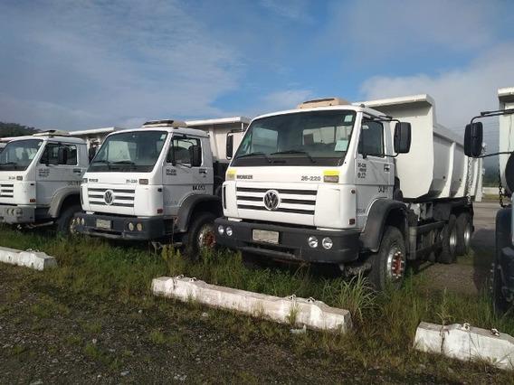 18 Unidades Volkwagem 26-220 6x4 Ano 2011 Caçamba Traçados