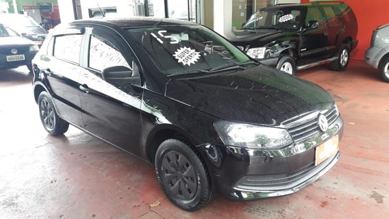 Volkswagen Gol Trend 1.0 Preto 2015