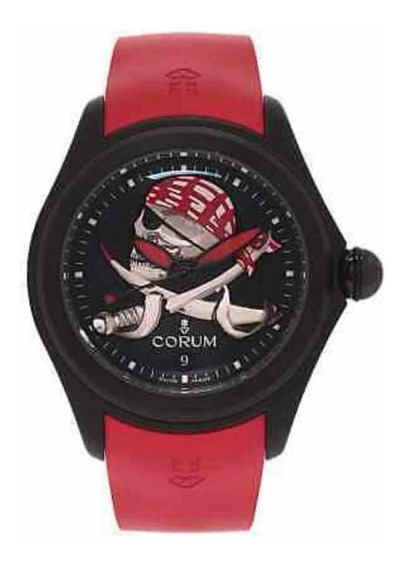 Relógio Corum Bubble 47 Pirate Pvd Novo Original E Importado