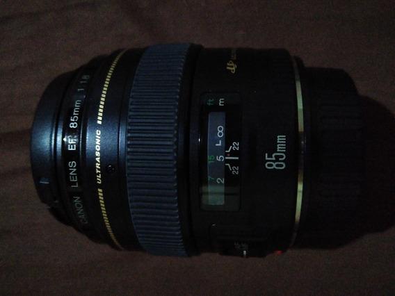 Lente Canon 85mm