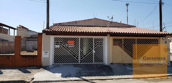 Casa Com 3 Dormitórios À Venda, 130 M² Por R$ 280.000 - Jardim Califórnia - Jacareí/spcasa Térrea Reformada No Jardim Califórnia - Ca1402