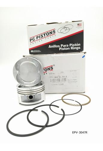 Pistones Epv-3047r-d-050 Chevrolet Aveo Pc Pistons Con Mueca