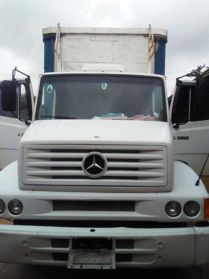 Caminhão Mb L1620 6x2 C/ Baú Sider 8 Mts Ano 2000