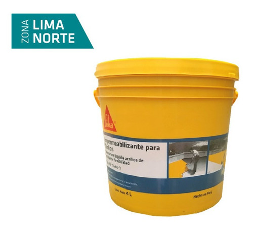 Membrana Líquida Elástica Sikafill® Techo-3 X 4l