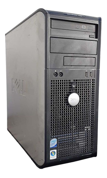 Pc Cpu Dell Torre Core 2 Duo 4gb Ddr2 Hd 80gb Leitor