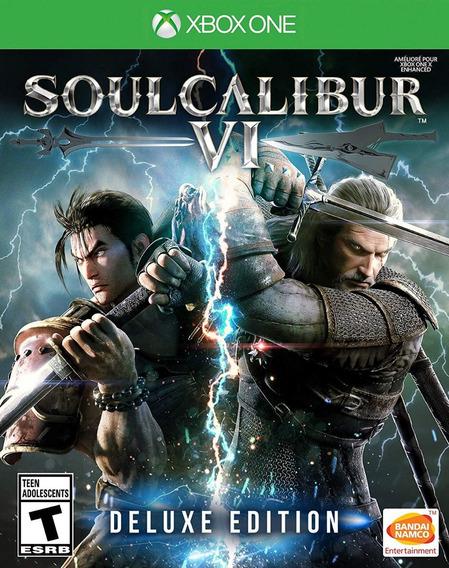 Soul Calibur 6 Deluxe Edition - Xbox One - Midia Fisica!