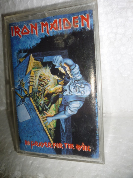 Fita K7 Iron Maiden No Prayer For The Dying 1990 Importado