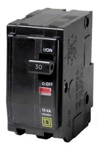 Imagen 1 de 8 de Pastilla Interruptor Termomagnético2polos30a Qo230 Schneider