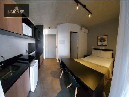 Studio Com 1 Dormitório À Venda, 30 M² Por R$ 350.000,00 - Bom Retiro - São Paulo/sp - St1360