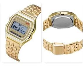 Relógio Cassio Vintage Dourado