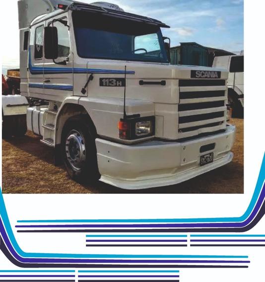 Calcos Franjas Scania 113 H
