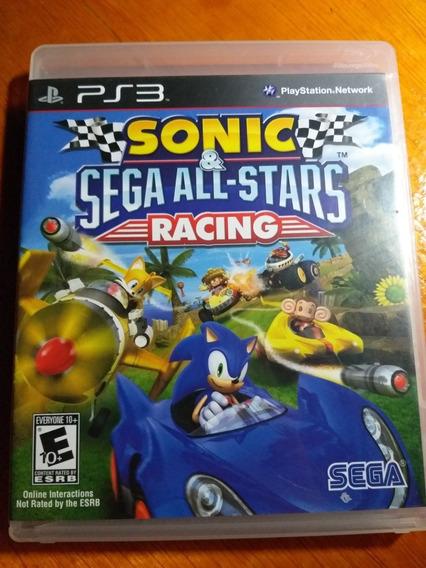 Sonic & Sega All Star Racing Ps3 Midia Fisica