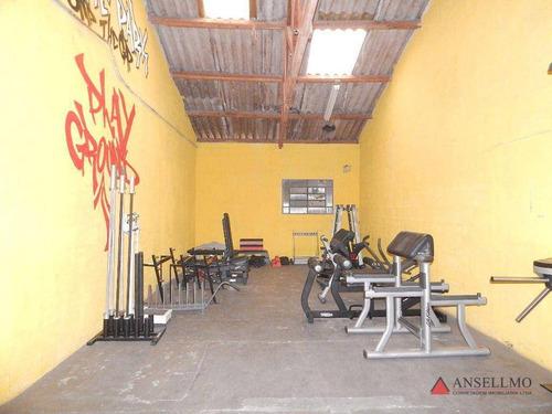 Imagem 1 de 16 de Galpão, 630 M² - Venda Por R$ 2.000.000,00 Ou Aluguel Por R$ 10.000,00/mês - Centro - São Bernardo Do Campo/sp - Ga0407