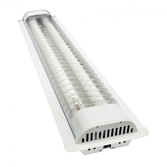 Luminária Led De Embutir Ta 71 2x40w Bivolt 6500k Icwt