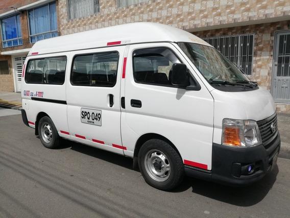 Nissan Urvan Pasajeros Techo Alto