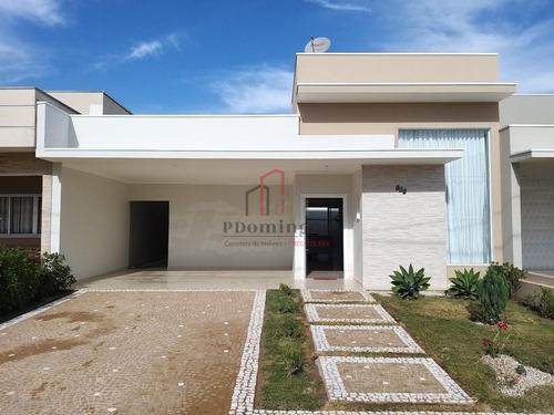 Casa À Venda Em Residencial Real Parque Sumaré - Ca000501