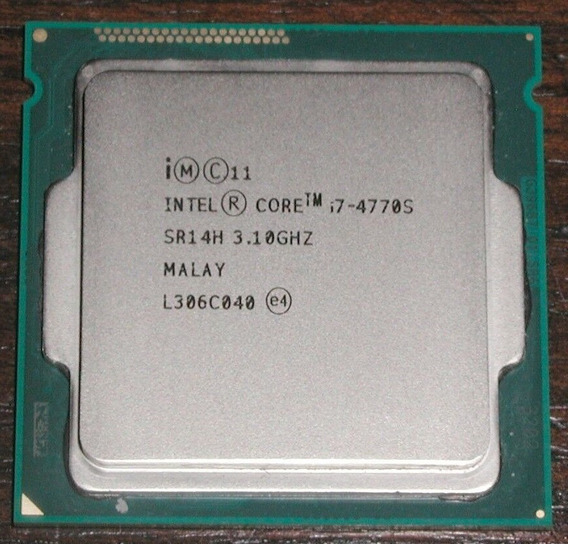 I7 4770s Turbo 3.9ghz 1150 Faço R$ 713 Melhor Q 4785t 4765t
