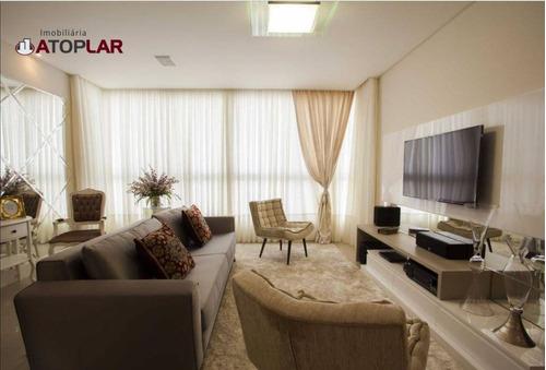 Apartamento À Venda, 128 M² Por R$ 1.960.000,00 - Centro - Balneário Camboriú/sc - Ap1583