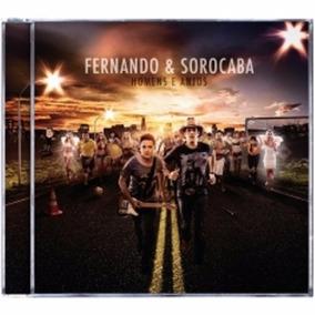 Fernando E Sorocaba Homens E Anjos [cd Original Lacrado]