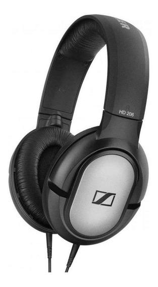 Fone de ouvido Sennheiser HD 206 prata