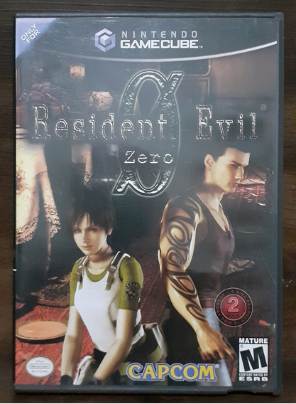 Resident Evil Zero - Game Cube Original Americano
