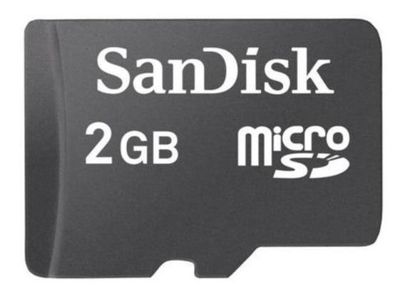 Cartao De Memoria Micro Sd 2gb Com Adaptadores