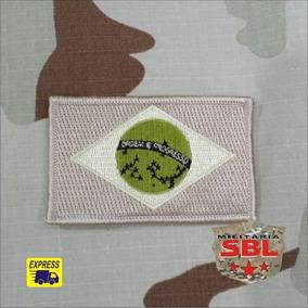 Patch Bandeira Brasil Desert Infrared Infravermelho Militar
