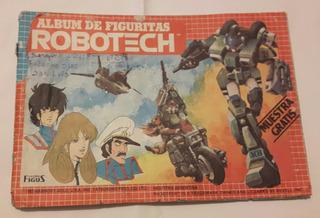 Album Robotech Ultra Figus Año 1985 Completo