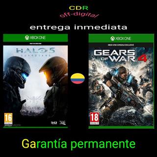 Oferta Halo 5 + Gears Of War 4 Xbox One Offline