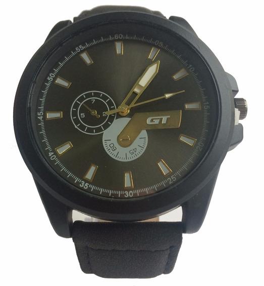 Relógio Original Gt Masculino Casual Esportivo Caixa Brinde