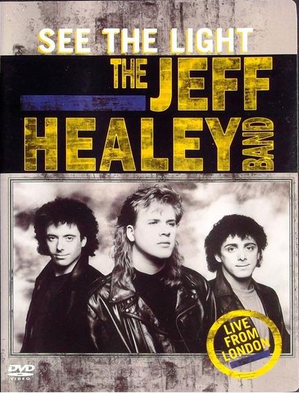 Jeff Healey See The Light Live From London Veja Descrição